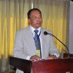 Shri. Imkonglemba Ao, APC & Mission Director FOCUS Nagaland addressing the Roundtable